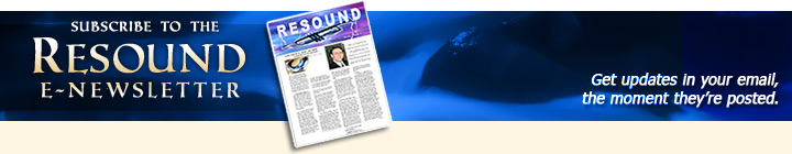 Suscribe to the RESOUND newsletter